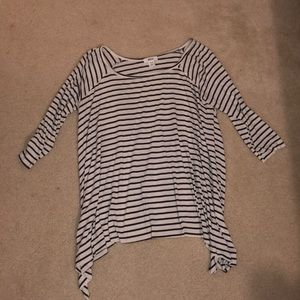 Black & white striped BDG shirt Urban Outfitters